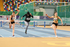 Turkcell Turkish Youth Indoor Championships Royalty Free Stock Photos