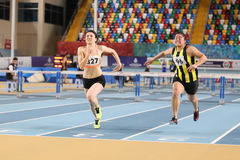 Turkcell Turkish Youth Indoor Championships Royalty Free Stock Images