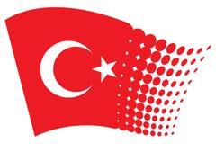 Turkey. Flag, flag of Stock Photography
