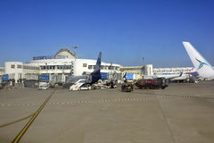 Turkey_Airport Stock Photo