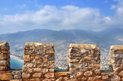Turkey, Alanya castle Royalty Free Stock Photography