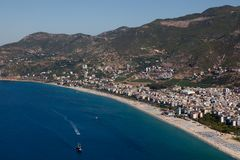 Turkey. Alanya cityscape Royalty Free Stock Photography