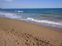 Turkey Antalya Manavgat Side Beach. Europa Royalty Free Stock Photos