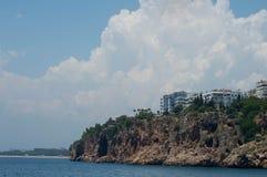 Turkey. Antalya. Old town. Sea view Royalty Free Stock Photo