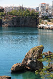 Turkey. Antalya town. Harbor Royalty Free Stock Photo