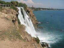 Turkey, Antalya, waterfall Royalty Free Stock Images