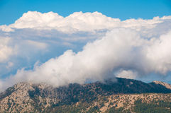 Turkey Babadag  mountain. Royalty Free Stock Images