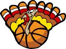 Turkey Basketball. Vector Image of a Basketball Turkey Stock Photos