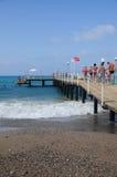 Turkey beach Stock Image
