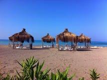 Turkey beach. In summer Royalty Free Stock Photo