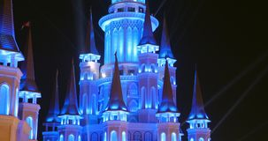 Turkey, Belek - 2017 October 4: Beautiful castle in Land of Legends theme park