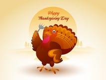 Turkey Bird for Thanksgiving Day celebration. Royalty Free Stock Photos