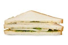 Turkey breast club sandwich Royalty Free Stock Photo