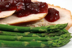 Turkey breast plate Stock Images