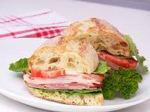 Turkey breast sandwich Stock Photography