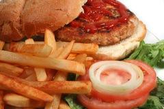 Turkey burger Stock Image