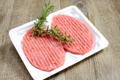 Turkey burgers Royalty Free Stock Images