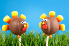 Turkey cake pops Stock Photography