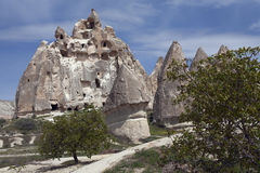 Turkey, Cappadocia. Turkey. Amazing landscapes of Cappadocia Royalty Free Stock Photos