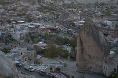 Turkey, Cappadocia. Goreme Village in Cappadocia. Turkey Royalty Free Stock Photo