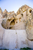 Turkey, Cappadocia. The monastery complex Open Air Museum Göreme. The ruins of the medieval cave church Royalty Free Stock Photography