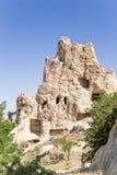 Turkey, Cappadocia. Open-air museum of Goreme. Ancient cave Nunnery Kyzlar, XI century. Stock Photos