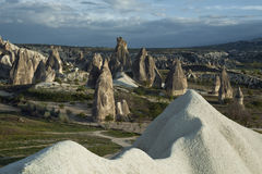 Turkey, Cappadocia. Peribadzhalary - fairy chimney of Cappadokia Stock Photography
