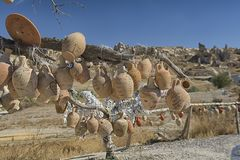 Cappadocia, pot, turkey, travel, landscape, nature, tourism, valley, royalty free stock photo