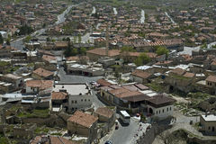 Turkey, Cappadocia. Uchisar Village in Cappadocia. Turkey Royalty Free Stock Photo