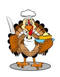 Turkey cartoon Royalty Free Stock Photo