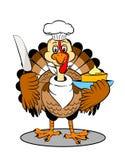 Turkey cartoon Royalty Free Stock Photo