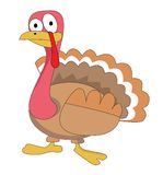 Turkey cartoon Royalty Free Stock Photography