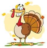Turkey cartoon character Royalty Free Stock Photography