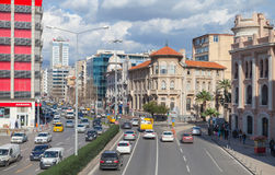 Turkey. Central part of Izmir, street view Royalty Free Stock Photography