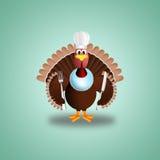 Turkey chef Stock Photo