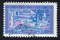 Ataturk Square Royalty Free Stock Photo