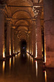 Turkey, Cistern. Cistern in Istanbul, Turkey. Water stock photography