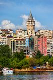 Istanbul Cityscape Royalty Free Stock Photos