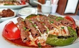 Turkey City Manisa Kebab Kofte Food Royalty Free Stock Image