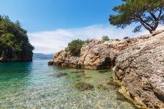Turkey coast Royalty Free Stock Photo