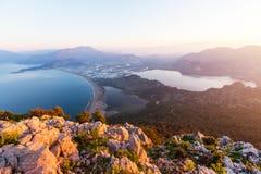 Turkey coast Royalty Free Stock Images
