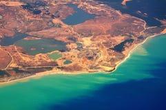 Turkey coast ffrom above Royalty Free Stock Photos
