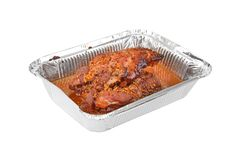 Baked turkey-cock meat Royalty Free Stock Photos