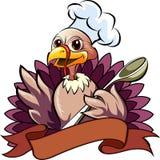 The turkey cook Stock Photos