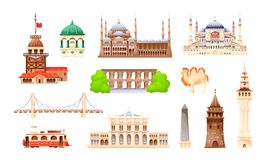 Free Turkey Country Buildings Landmarks. Travel Concept For Asi Royalty Free Stock Images - 160463269