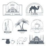 Turkey country set label. Template of emblem element for your product or design, web and mobile applications with text Stock Image
