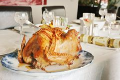 Christmas Dinner Royalty Free Stock Photos