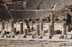 Turkey Ephesus Amphitheater ruins Royalty Free Stock Photography