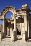 Turkey Ephesus Hadrian's temple Stock Photo