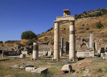 Turkey Ephesus ruins Royalty Free Stock Photography